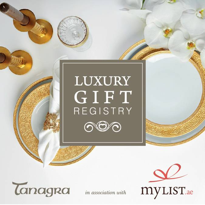 Boardmans Gift Registry Weddings: Mylist.ae Partners With Tanagra To Launch Luxury