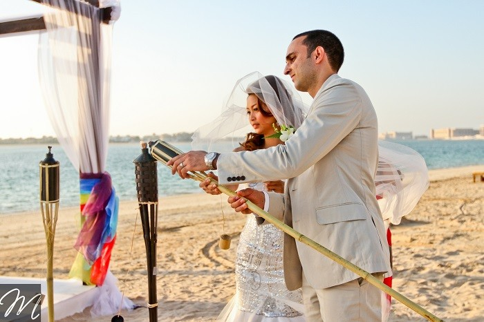 Rainbow wedding-Dubai-brideclubme