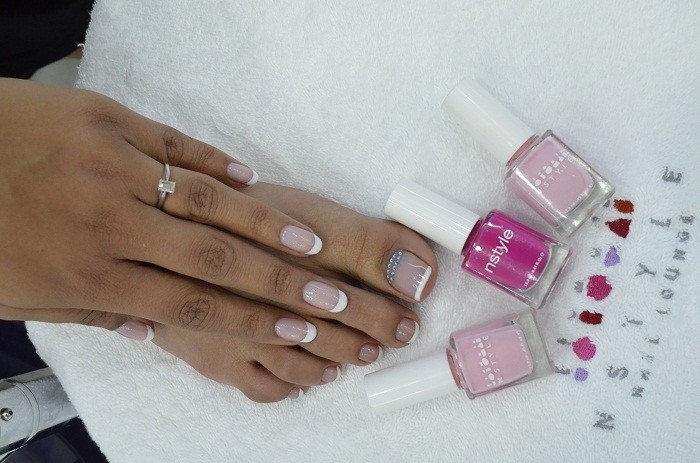 Nstyle review Mall of Emirates - Bridal Nails