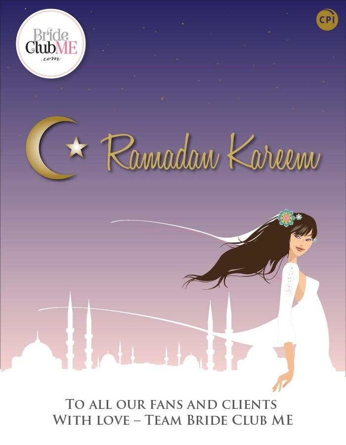 Ramadan Kareem from Bride Club ME