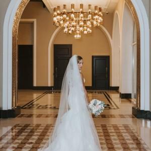 Al Habtoor Polo Resort Dubai Bride in Dress