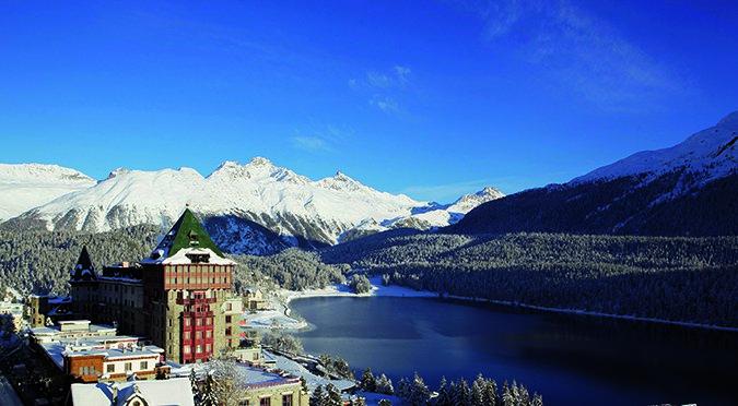 ENGADIN St. Moritz: Badrutt's Palace Hotel St. Moritz