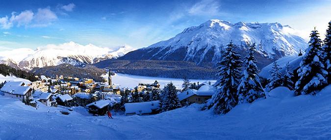 ENGADIN St. Moritz: Ueberblick