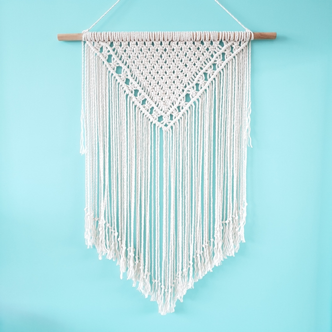 Turquoise Boutique Studio Macrame Wall Hanging - Fairytale