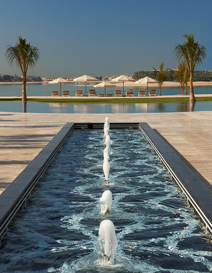 Waldorf Astoria Dubai May 2014 Beach