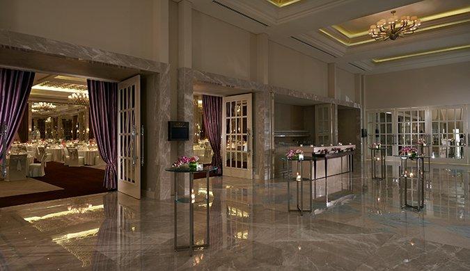 Waldorf Astoria Dubai May 2014 Grand Ballroom Pre Function Area