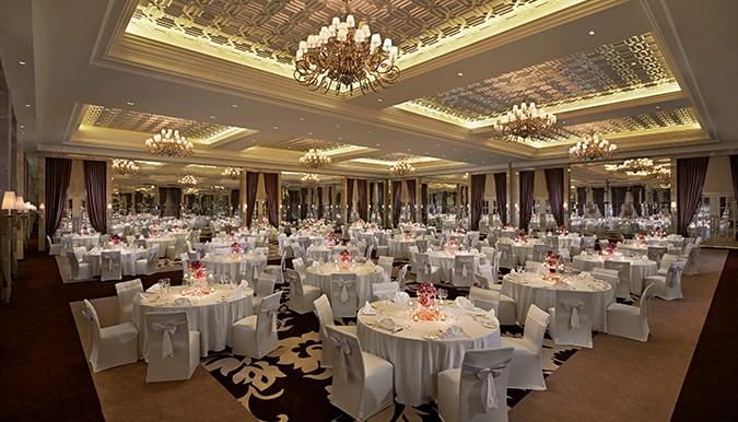 Waldorf Astoria Dubai May 2014 Grand Ballroom