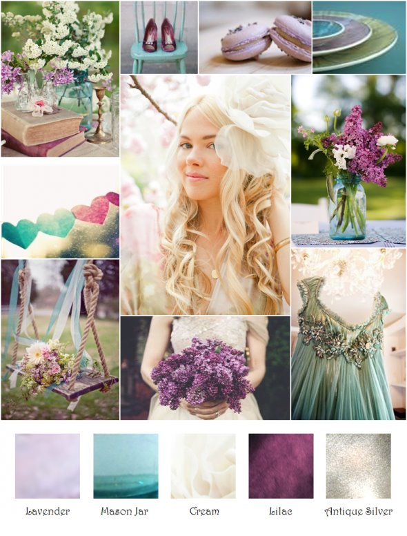 Wedding colours