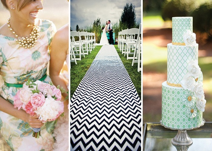 Wedding prints and patterns
