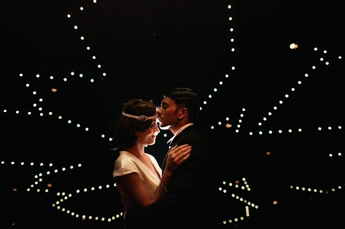 Gatsby inspired  wedding dress