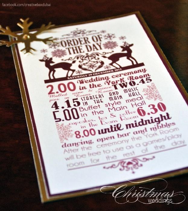 Bride Club ME Creative box wedding order