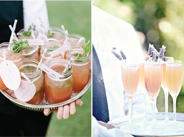 Bride Club ME Signature Welcome drinks
