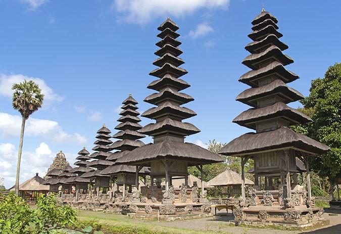 Pura Taman Ayun near Mengwi, Bali, Indonesia.