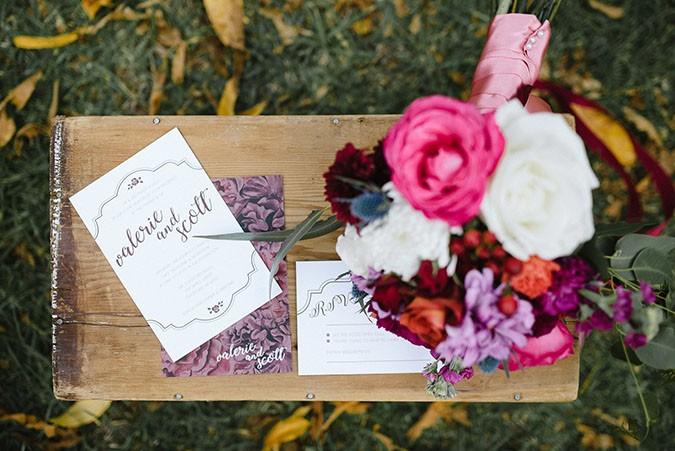 autumnal & halloween inspired weddings