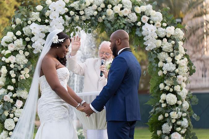 Nigerian destination wedding Dubai ceremony
