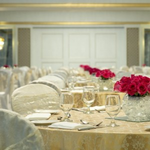 Radisson Blu Deira Creek Plaza Ballroom Wedding Setup
