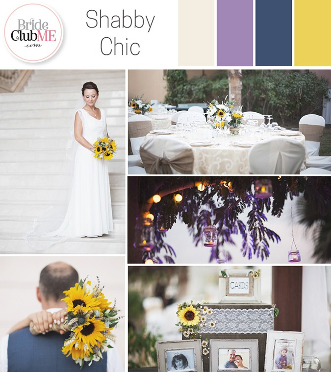 Wedding Colour Scheme { Shabby Chic }