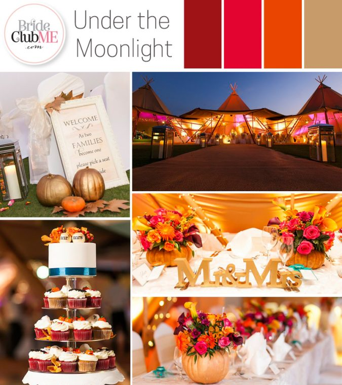 Halloween Wedding Colour Scheme
