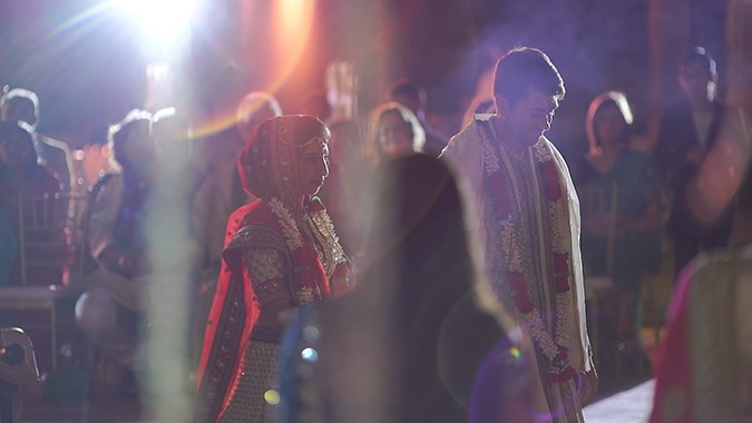Vibrant Three Day Indian Wedding Dubai