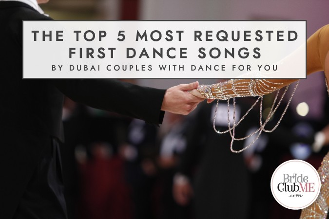 BCME-Top 5 First Dance Songs_Article First Image