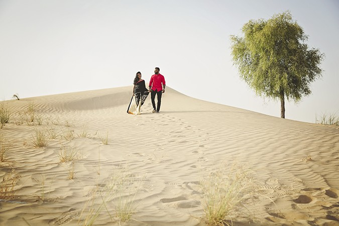 Five Reasons To Have An Engagement Shoot In The Desert