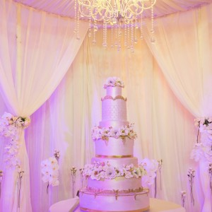 Cake Loft 6 Tier Wedding Cake