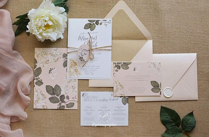 Get to Know the Wedding Pro: Prêt à Papier Invitations & Stationery, Dubai
