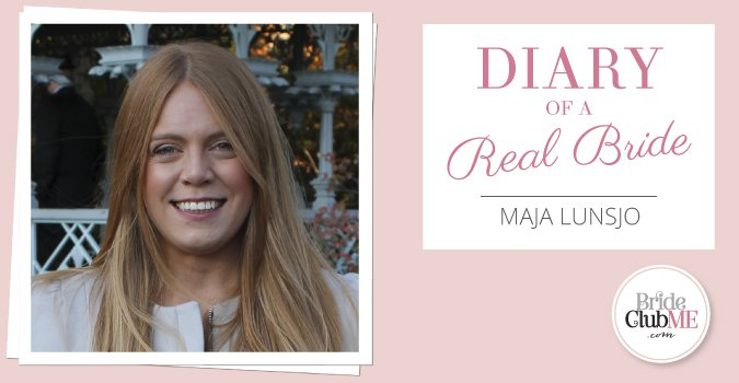 Real Dubai Bride Maja Lunsjo: Is There Such A Thing As The Perfect Wedding Dress?