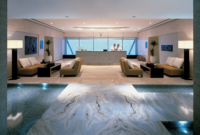 Health Club & Spa at Shangri-La Reception