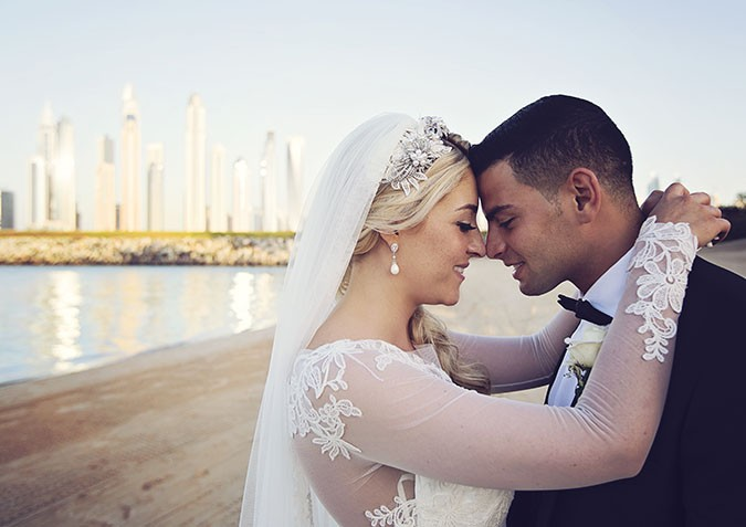 A Scottish-Arabic Dubai Destination Wedding At The One and Only The Palm