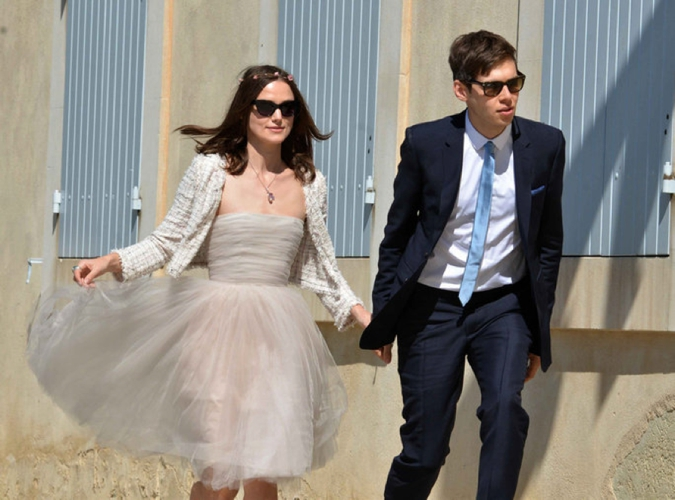 Image #: 22217653 ***SPECIAL RATES APPLY. NORTH AMERICAN SALES ONLY*** A scene from the wedding day of British actress Keira Knightley and James Righton (singer of Klaxons) in Mazan, France near Avignon in Provence where the actress has a house, May 3, 2013. The photos are taken outside of the village hall and around the village of Mazan. Landov