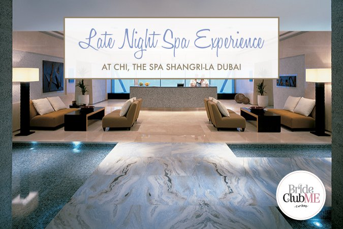 Late Night Spa Experience At CHI The Spa, Shangri-La