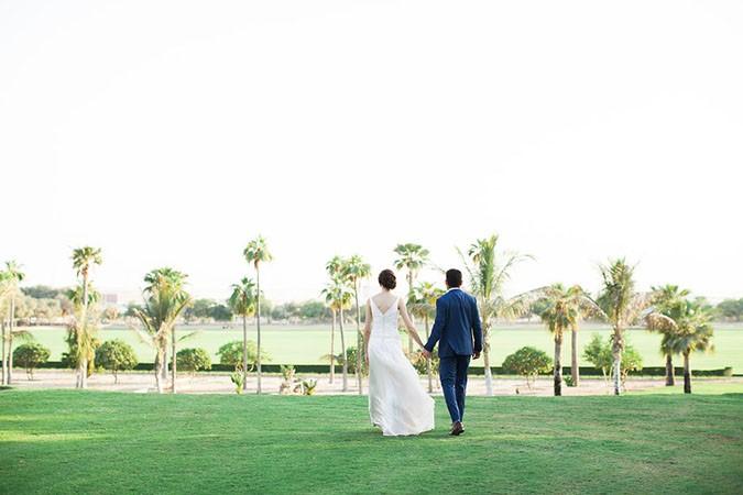 timeless wedding at desert palm dubai
