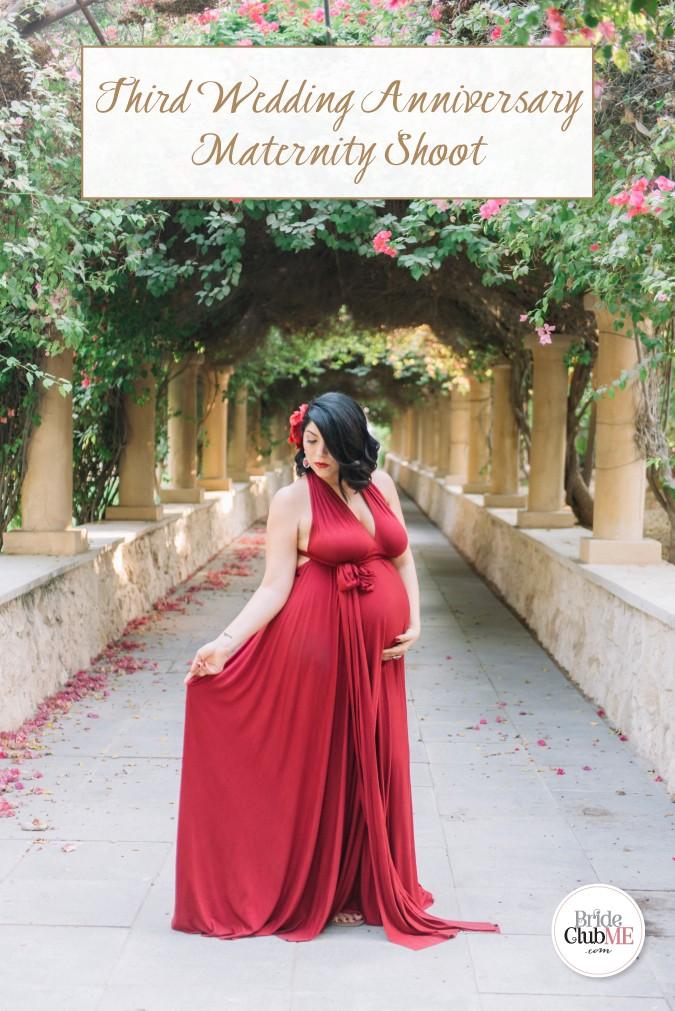 Third Wedding Anniversary.Third Wedding Anniversary Maternity Shoot In Dubai Bride Club Me