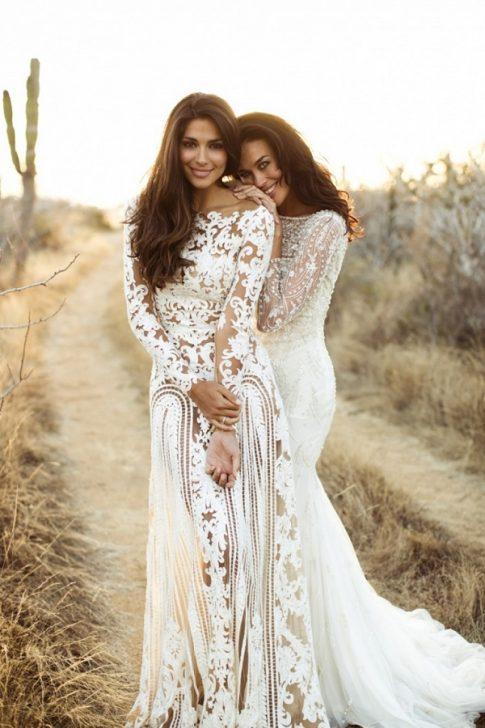 d415d84a8 10 Stunning High-Neckline Wedding Gowns | The Modest Wedding Dress Trend
