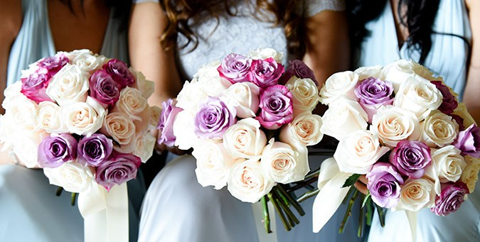 Real Wedding By Yes! Exclusive Weddings & Events: Shades Of Purple With A Spark Of Ivory