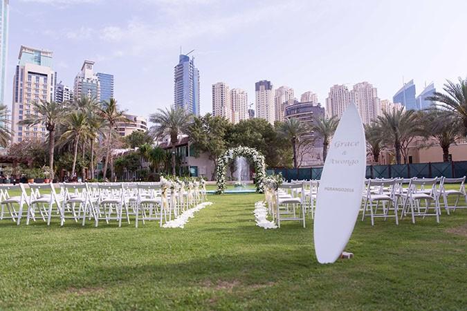 Nigerian destination wedding Dubai set up