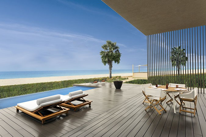 Preimum two bed room villa with private terrace
