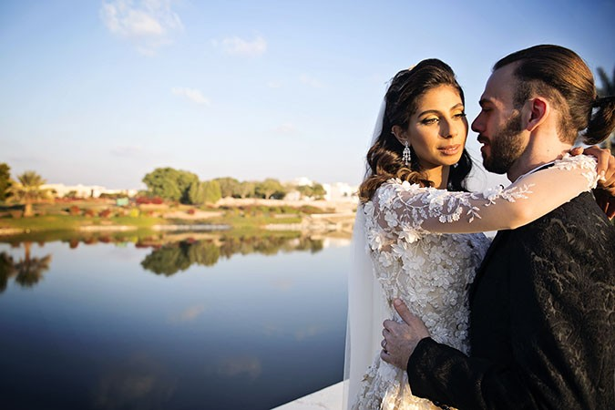 Salma & Muhannad's Dubai Garden Wedding By Goldfish Photography & Video