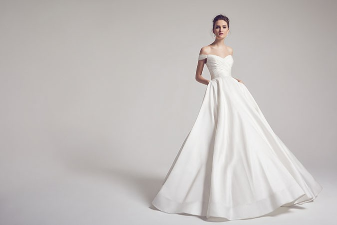 As Seen On 'Scandal': The Berkley Wedding Dress Arrives Exclusively At The Bridal Showroom Dubai