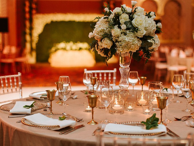 Mariam & James: A Vibrant Décor-Focused Wedding By The Day Events
