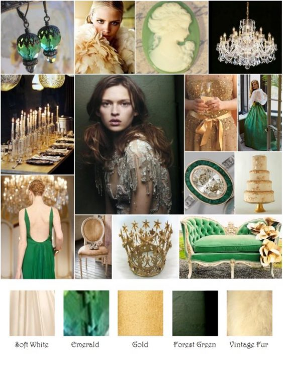 Wedding Colour Scheme Inspiration - Bride Club ME's Pick of the Week.