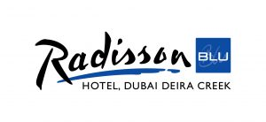 Logo for the Radisson Blu, Dubai Deira Creek