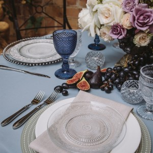 Wedding Table Setting by Opulent Vision