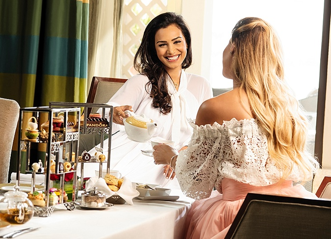 A Brand-New Spot For The Perfect Dubai Bridal Shower Tea Party!
