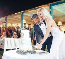 Jessica & Andy's Fairy-Tale Beach Front  Dubai Wedding