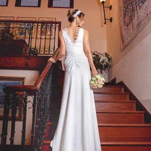 Bridal gown by Scissors tailoring studio in UAE