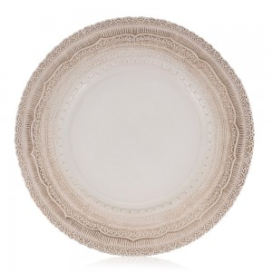 Round tablewear from Specstyles furniture rentals in Dubai