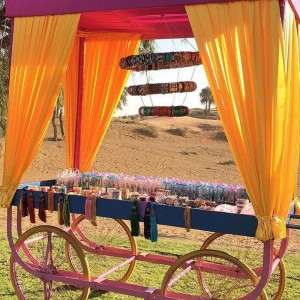 Bangle Cart created by Design Tuk Tuk in Dubai