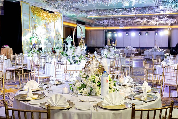 The Millennium Airport Hotel wedding fair in Dubai